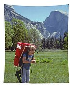 Mp-441-little Boy Big Pack  Tapestry