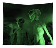 Aliens And Ufo 6 Tapestry