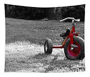 Little Red Trike Tapestry