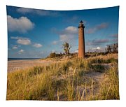 Little Sable Light Michigan Tapestry