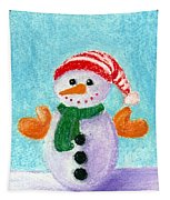 Little Snowman Tapestry