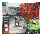 Little West Indian House 1 Tapestry
