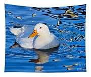 Little White Duck Tapestry
