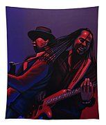 Living Colour Painting Tapestry by Paul Meijering