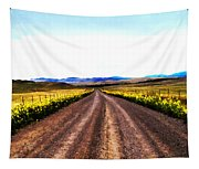 Living On Back Roads Tapestry