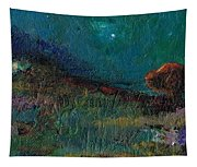 Living On The Edge Tapestry