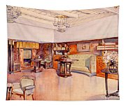 Living Room, 1905 Tapestry