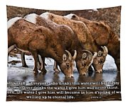 Living Water Tapestry