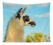 Llama Profile Tapestry