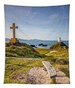 Llanddwyn Island Bench Tapestry
