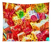 Loaded Dice Tapestry