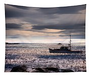 Lobster Boat Tapestry