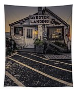 Lobster Landing Shack Restaurant At Sunset Tapestry
