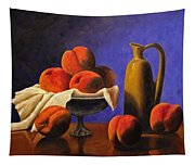 Local Peaches Oil Painting Tapestry