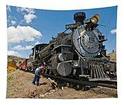 Locomotive Engineer Tapestry