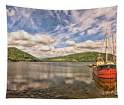 Loch Fyne Digital Painting Tapestry