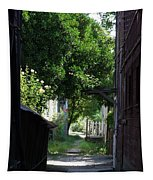 Locke Chinatown Series - Alley With Trees - 5 Tapestry
