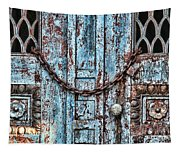 Locked And Chained Tapestry