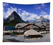 Lodge At Many Glacier, Glacier National Tapestry