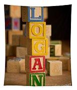 Logan - Alphabet Blocks Tapestry