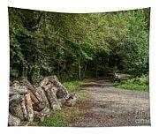 Logs Tapestry