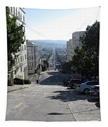 Lombard Street. San Francisco 2010 Tapestry