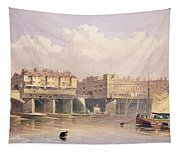 London Bridge, 1835 Tapestry