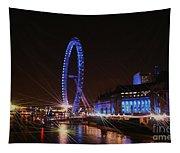London At Night Tapestry
