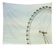 London Eye Closeup Tapestry