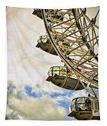 London Eye View Tapestry
