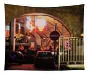 Eating Out In London Tapestry