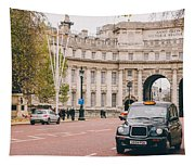 London Taxi Tapestry