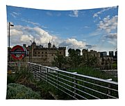 London Underground And The Tower Of London Tapestry