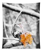 Lone Leaf Tapestry