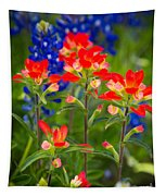 Lone Star Blooms Tapestry