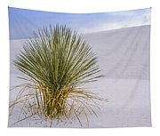 Lonely Yucca Plant In White Sands Tapestry