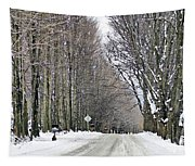 Long Country Road Tapestry