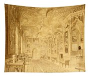 Long Gallery At Strawberry Hill Tapestry