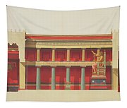 Longitudinal Section Of The Temple Tapestry