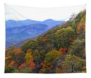 Looking Glass Rock And Fall Colors Tapestry