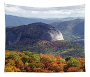 Looking Glass Rock And Fall Folage Tapestry