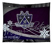 Los Angeles Kings Christmas Tapestry