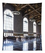 Los Angeles Union Station Original Ticket Lobby Vertical Tapestry