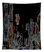Losing Equilibrium - Abstract Art Tapestry