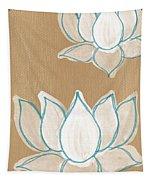 Lotus Serenity Tapestry