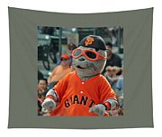 Lou Seal San Francisco Giants Mascot Tapestry