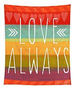 Love Always Tapestry