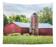 Love Barn Tapestry