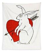 Love Bunny Tapestry