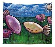 Love For Little Birds Tapestry